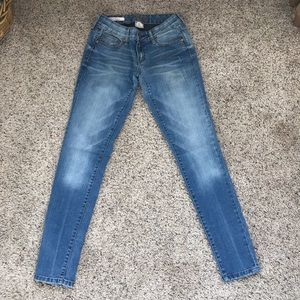 Decree light wash denim legging skinny jeans